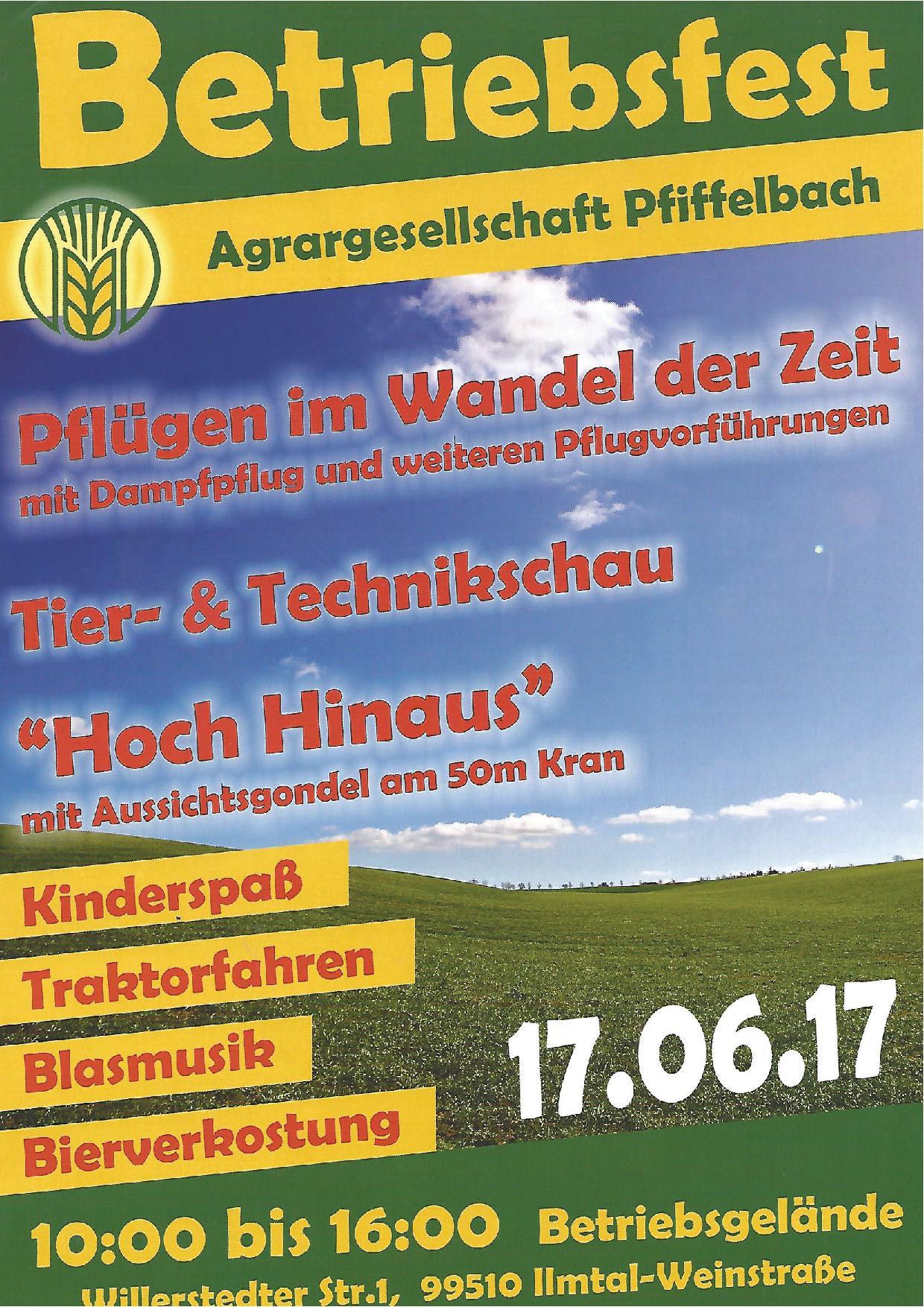 oßmannstedt | neuigkeiten | archiv, Einladung